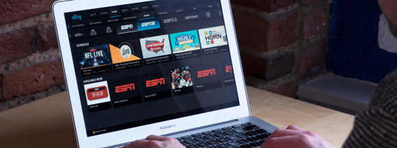 Sling tv in use hero