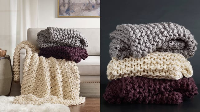 40 Cozy Blankets Under 40 That Will Keep You Warm This Fall Reviewed Impressive Down Throw Blanket Target
