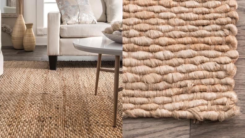 Fiber rug