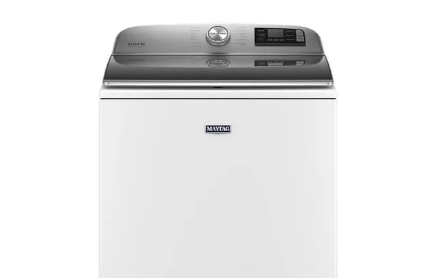 A simple photo of the Maytag washer