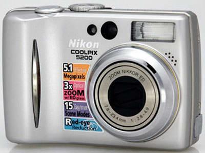 Product Image - Nikon CoolPix 5200