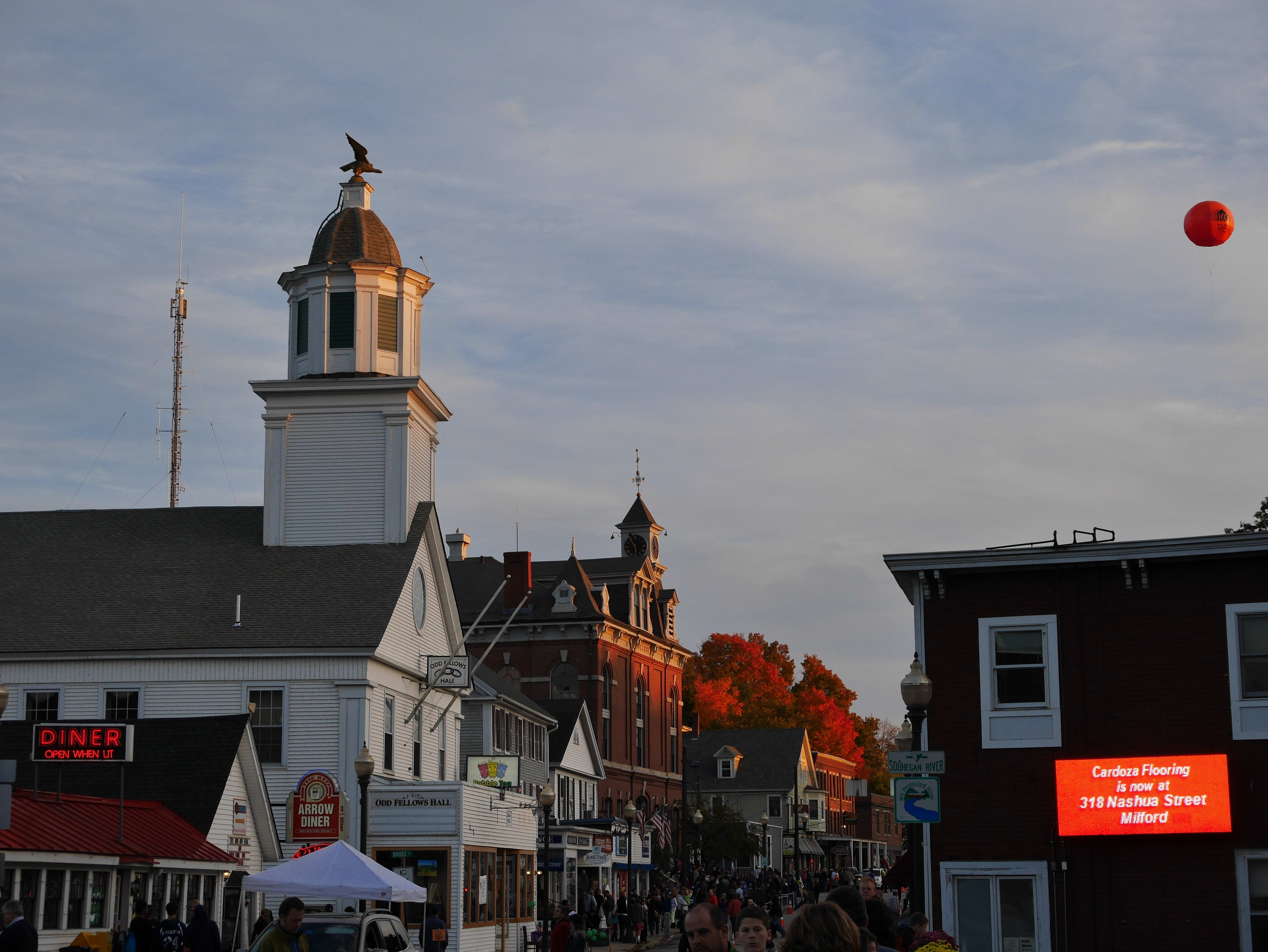 A photo of Milford, NH shot by the Panasonic Lumix GM5