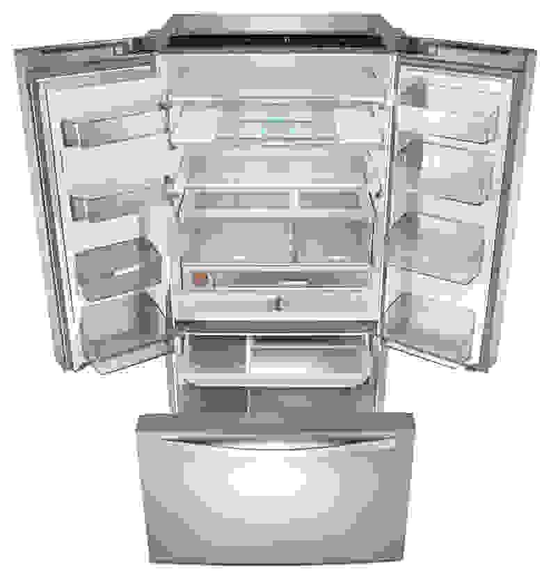 Whirlpool Fridge with Pantry Shelves