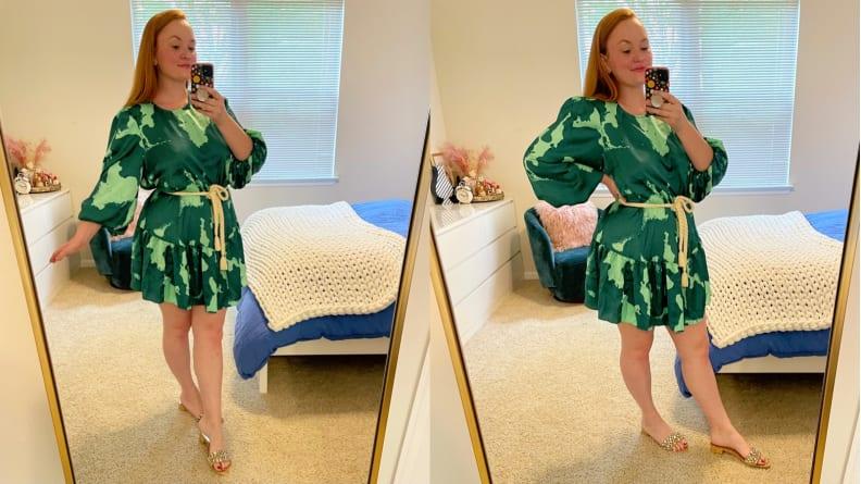 ALEXIS for Target Green Mini Dress