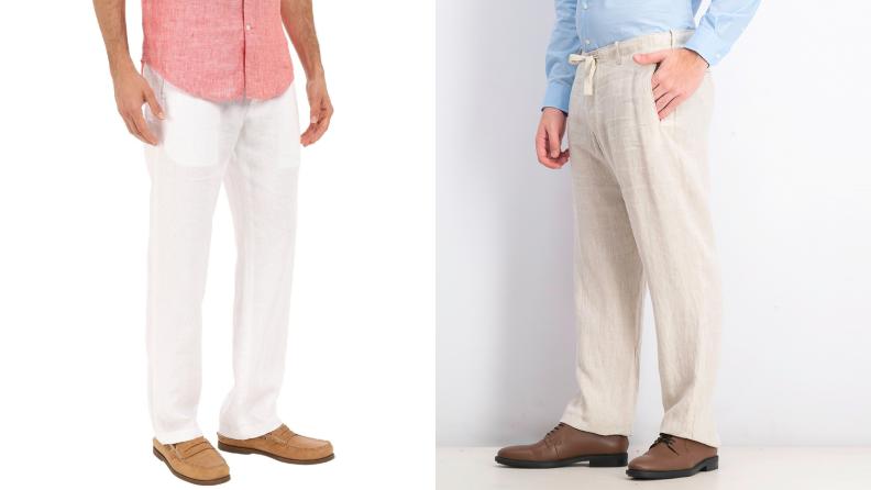 Perry Ellis linen pants