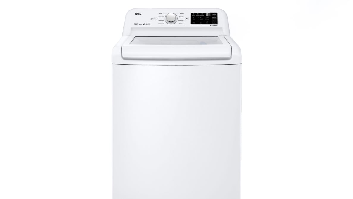A clean design allows you to easily use the LG WT7100CW