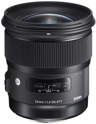 Product Image - Sigma 24mm f/1.4 DG HSM   A