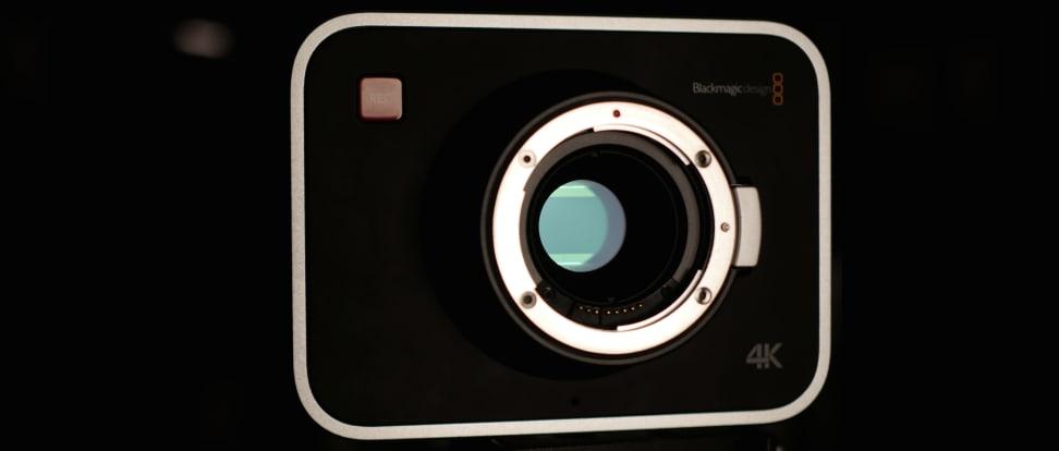 Product Image - Blackmagic Production Camera 4K EF