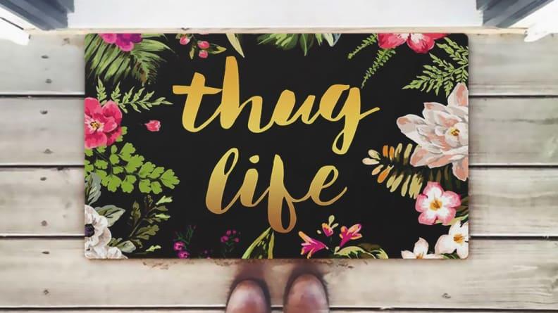 Thug Life Doormat