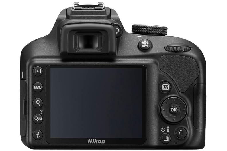 Nikon D3400 Rear View