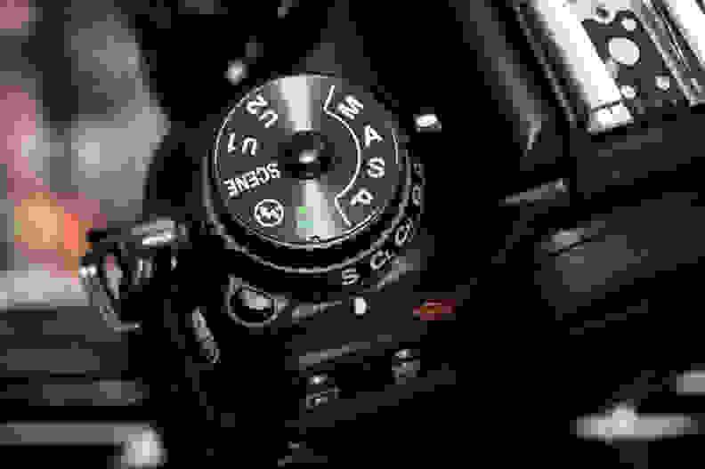 Nikon D7200 Mode Dial