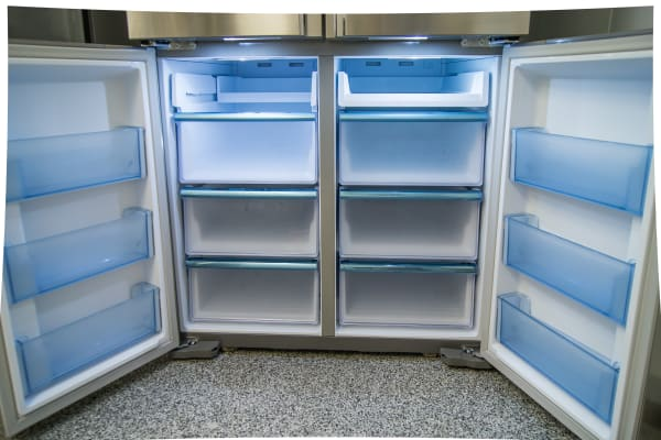 The freezer compartments are all-drawers, which is convenient but reduces airflow.