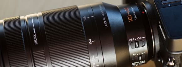 Panasonic 100 400 m43 lens hero