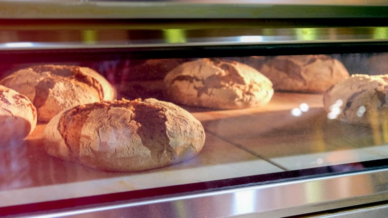 How to preheat your oven - bread