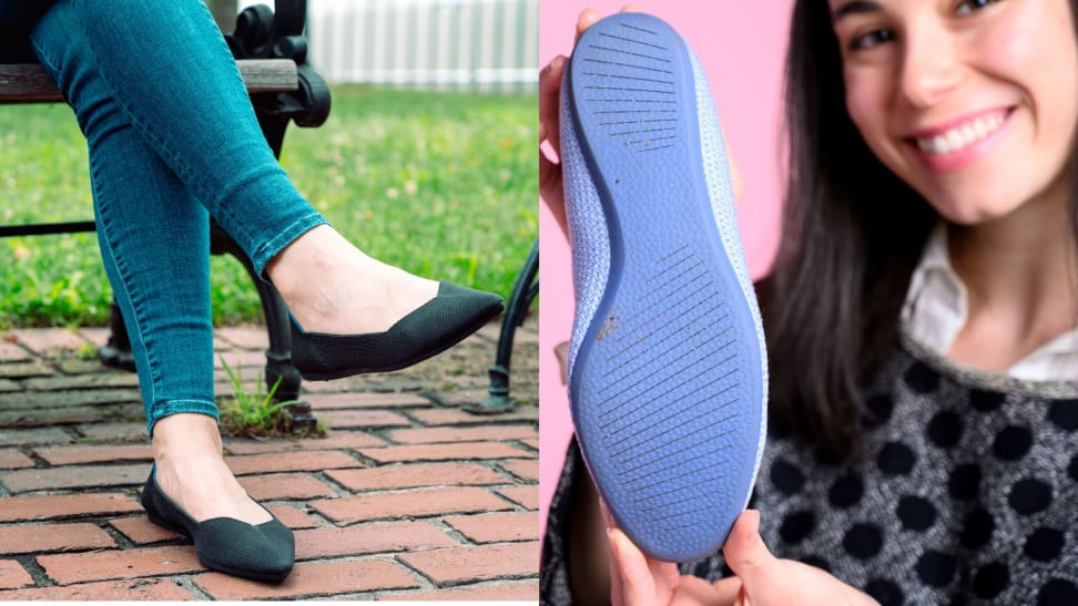 Rothy's and Allbirds flats