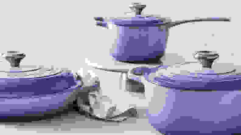 Le Creuset Dutch oven - purple ombre