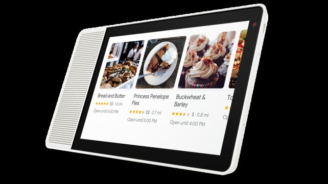 Lenovo Smart Display Recipes