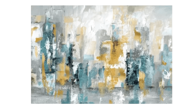 'City Views II' Painting Print