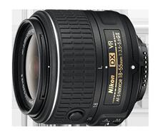 Product Image - Nikon AF-S DX Nikkor 18-55mm f/3.5-5.6G VR II
