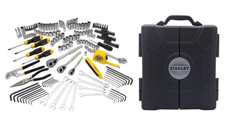 Stanley mixed tool kit