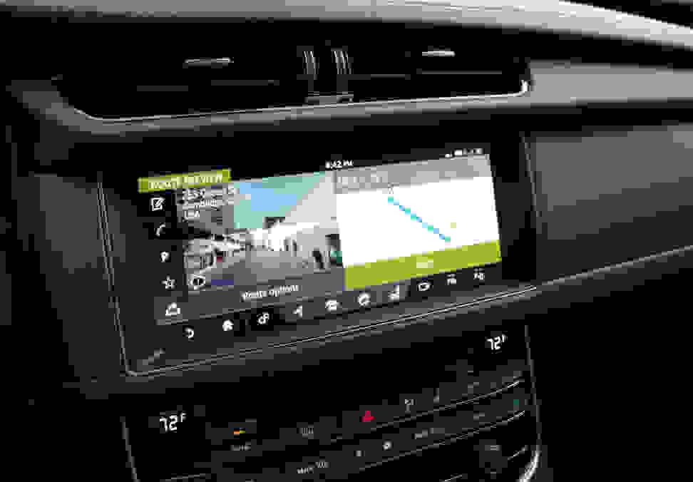 2017 Jaguar XF Diesel Navigation—Preview