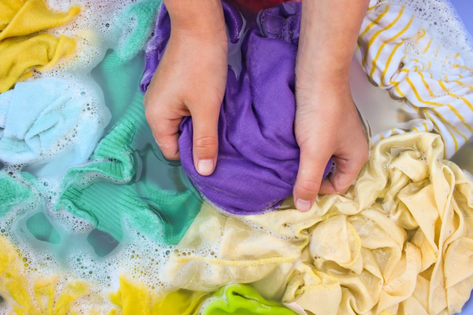 Can 'hand-wash only' clothes go in the washing machine?