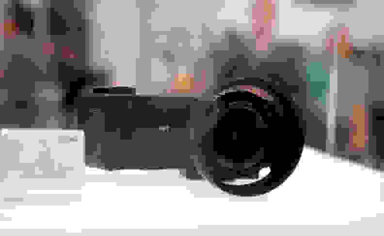 Sigma also makes cameras, including this funky Quattro design.