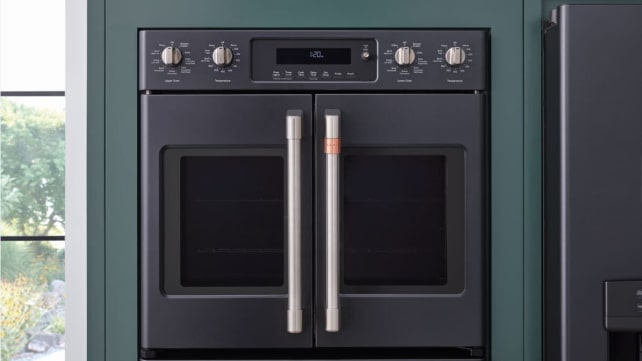 French-door-matte-black-wall-oven-GE_Cafe