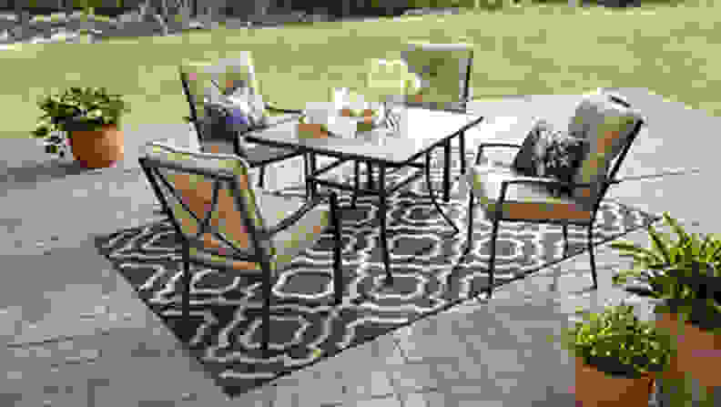 Mainstays Forest Hills Outdoor Patio Dining Set