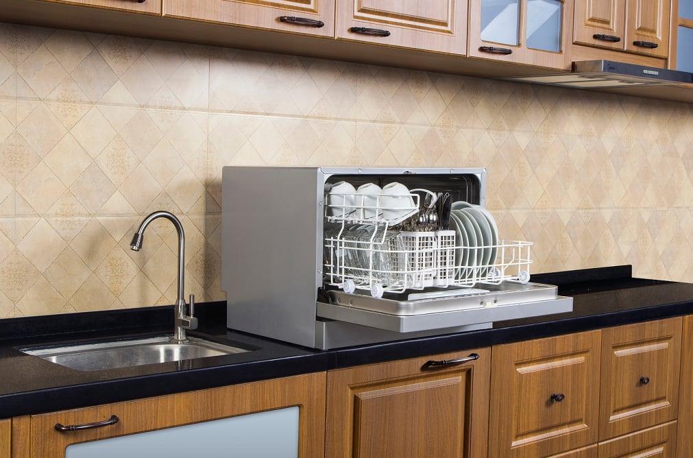 Midea portable countertop dishwasher