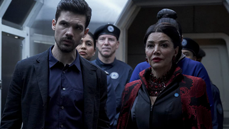 A still from 'The Expanse' featuring