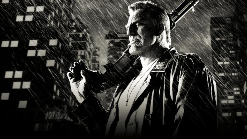Mickey Rourke stars as Marv in 'Sin City.'