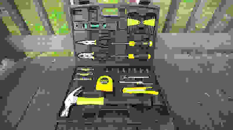Stanley 65 Piece Homeowner's Tool Kit