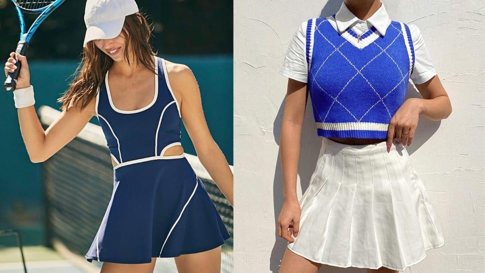 Tennis-chic trend