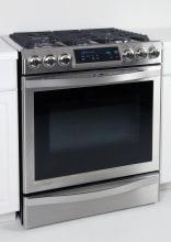 Samsung Chef Collection Nx58h9950ws Slide In Gas Range
