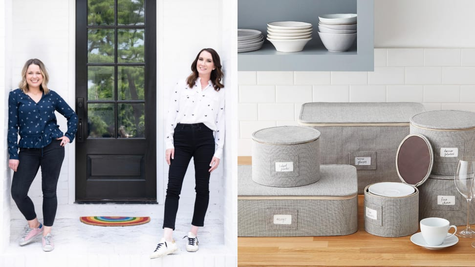Joanna Teplin and Clea Shearer of The Home Edit offer holiday organization tips