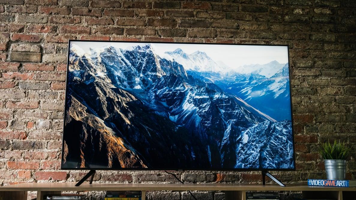 The 55-inch Samsung TU8000 LED TV