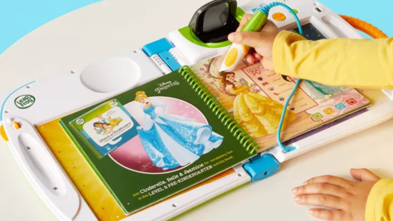 The LeapStart 3D brings their favorite books to life.