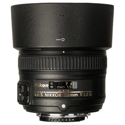 Product Image - Nikon AF-S Nikkor 50mm f/1.8G