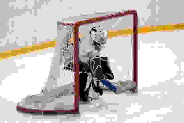 Girl-in-hockey-uniform