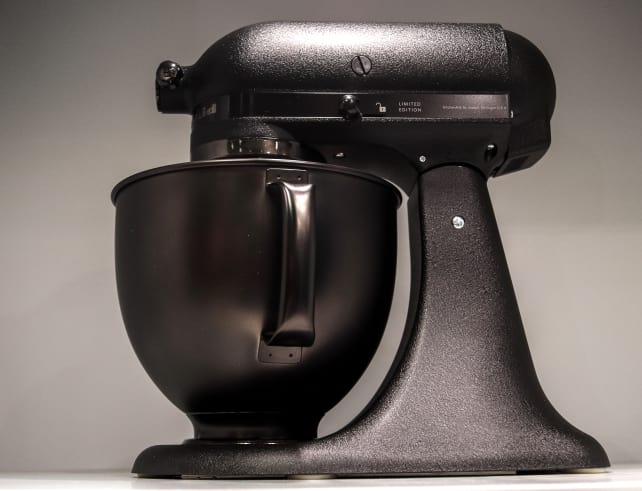 KitchenAid Matte Black Mixer – Profile