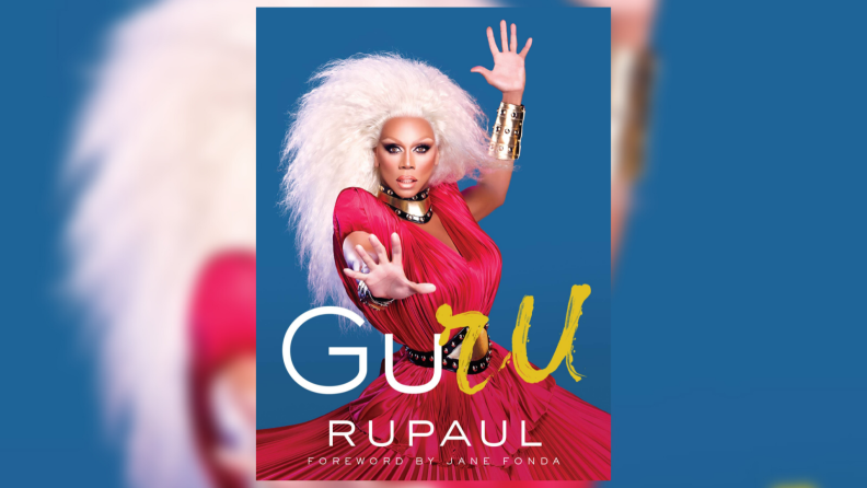 The book cover of RuPaul's