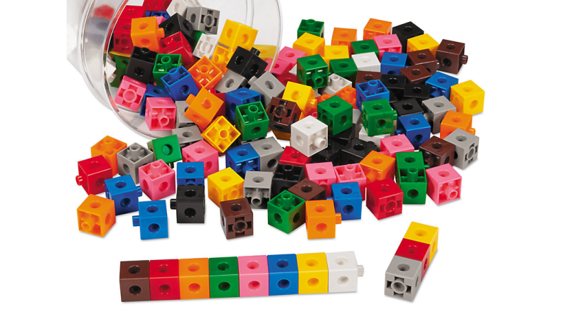 Make math easier for beginners with a set of manipulatives.