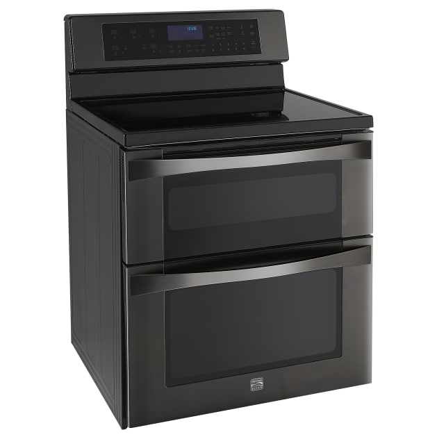 Kenmore Black Stainless