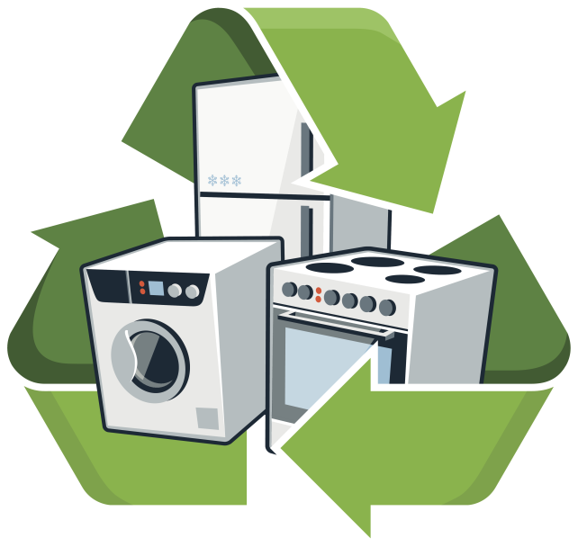 Recycling appliances