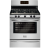 Frigidaire gallery fggf3030pf 30 inch freestanding stainless steel gas range
