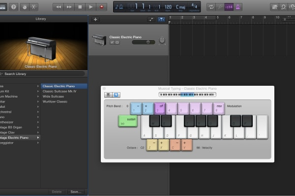 If you like to tinker with music, GarageBand gives you the tools to create your own music virtually.
