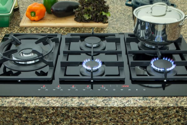 The Discovery 36-inch Gas TouchTop Stovetop