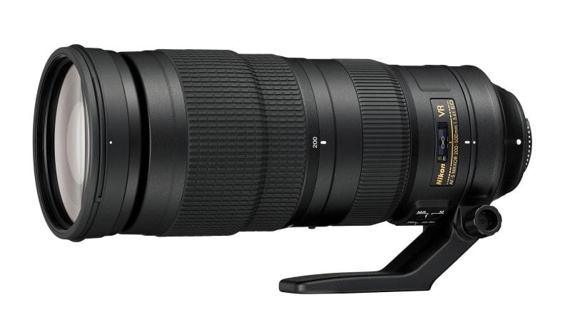 200-500mm f/5.6E ED VR