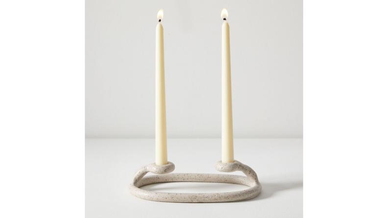 Best engagement gifts: Candlestick holder